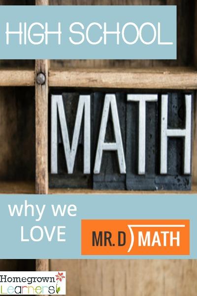 Homeschool HIgh School Math With Mr. D
