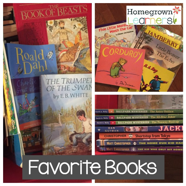 Our Favorite Books of All Time - Recommendations from Homegrown Learners