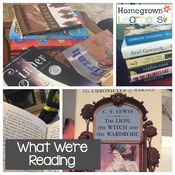 What We're Currently Reading - Recommendations from Homegrown Learners