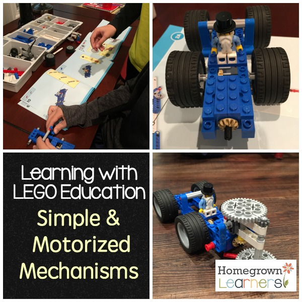 Learning With LEGO Simple & Motorized Mechanisms