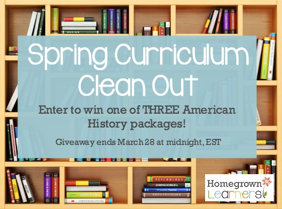 Spring Curriculum Clean Out at Homegrown Learners