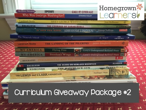 Spring Curriculum Clean Out Giveaway at Homegrown Learners