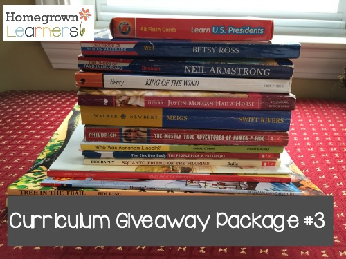 Curriculum Spring Clean Out Giveaway at Homegrown Learners