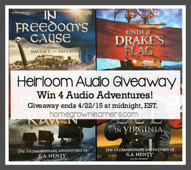 Win 4 Audio Dramas from Heirloom Audio