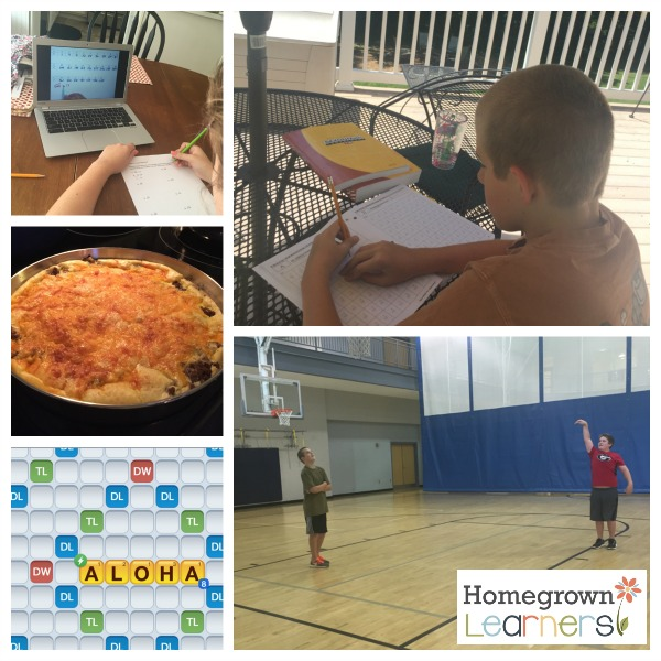 Collage Friday at Homegrown Learners