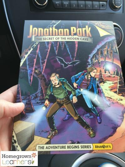 Jonathan Park Audio Adventures in Your Homeschool