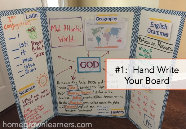 CC Foundations Tutor Tip #1: Hand Write Your Board