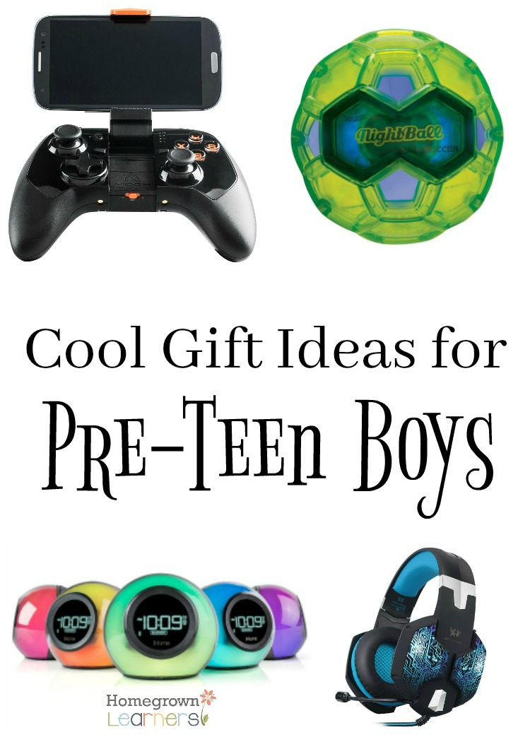 Teen Boy Christmas.Cool Gift Ideas For Pre Teen Boys Homegrown Learners