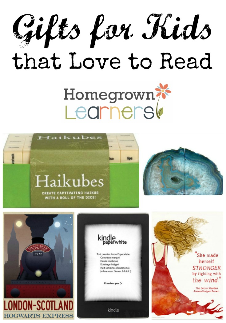 Gifts for Kids that Love to Read