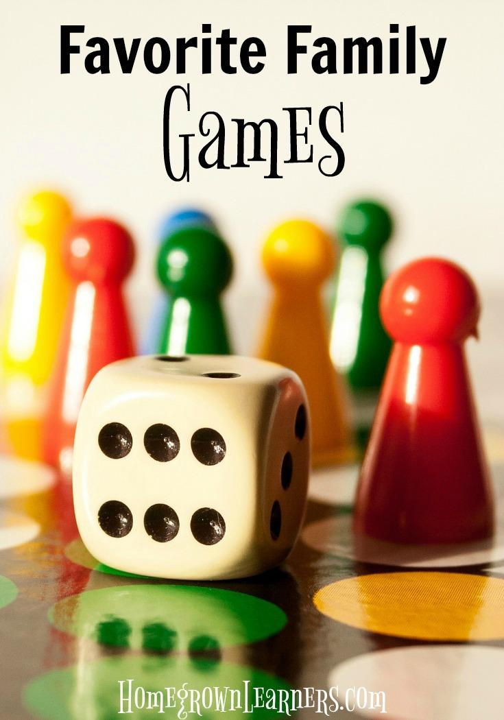 Favorite Family Games
