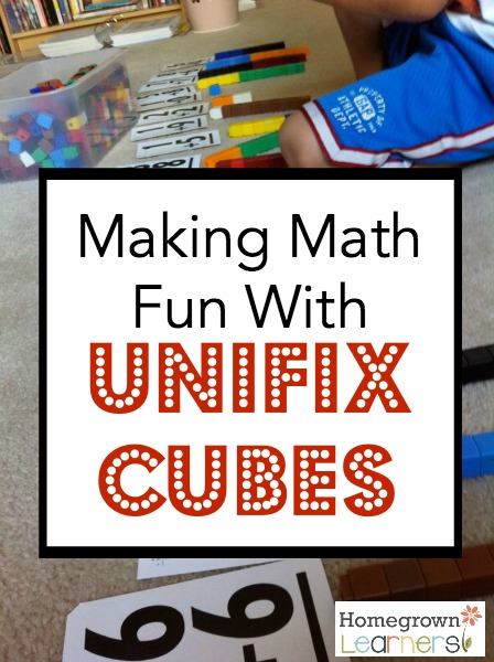 Making Math Fun with Unifix Cubes