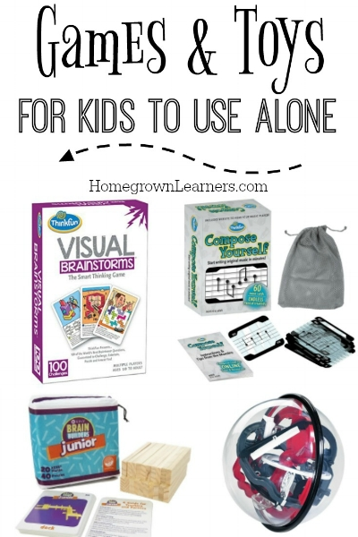 Games & Toys for Kids to Use Alone