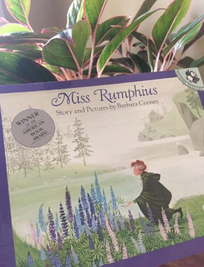Music, Botany & Literature with Miss Rumphius