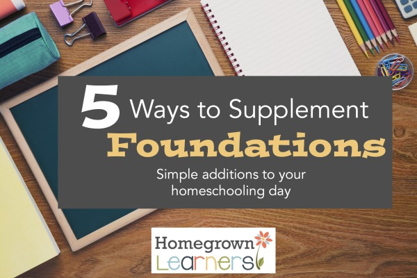 5 Ways to Supplement Foundations
