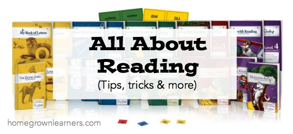 All About Reading at Homegrown Learners