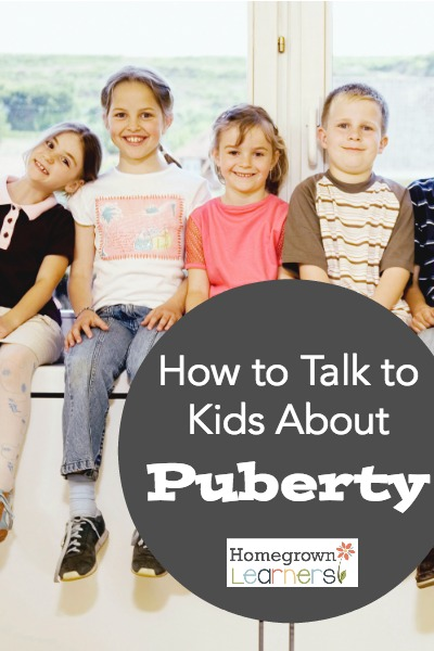 How to Talk to Kids About Puberty