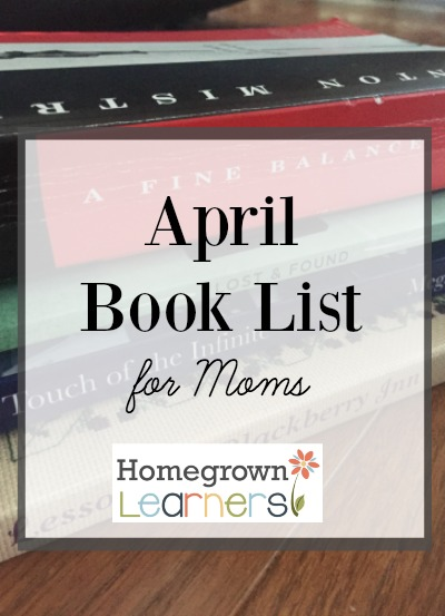 April Book List for Moms
