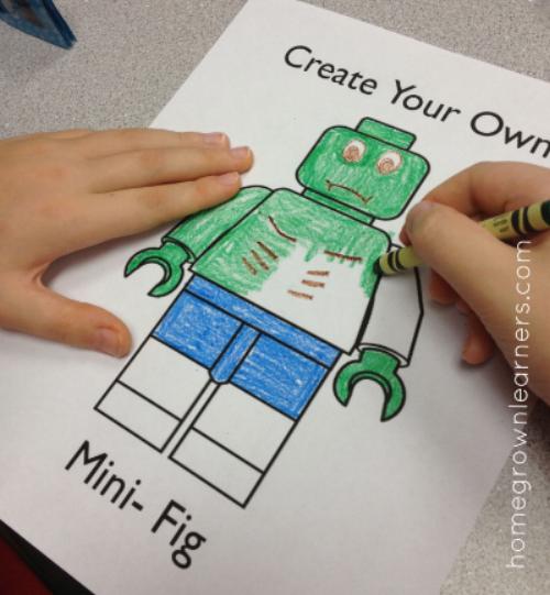 Create Your Own LEGO Minifigure Printable