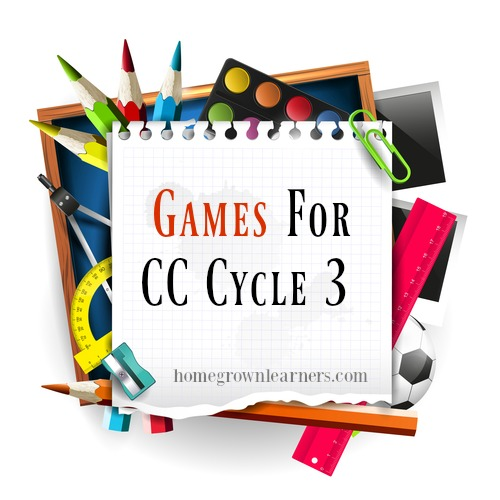 Games for CC Cycle 3