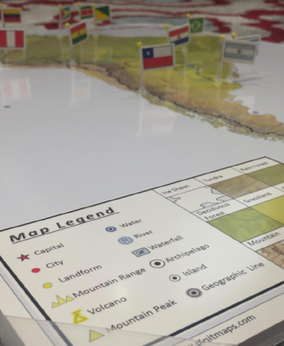 Pin It! Maps -- a great geography resource!
