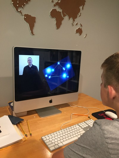 Experience Astronomy - online astronomy course for homeschoolers