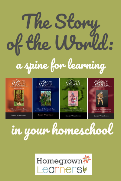 Using the Story of the World as a Spine for Learning in Your Homeschool