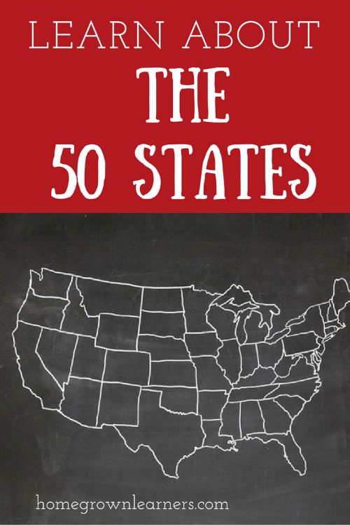 Learn About the 50 States