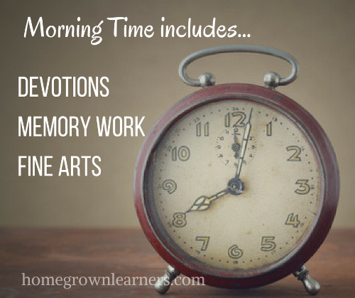 What to Include in a SIMPLE Morning Time