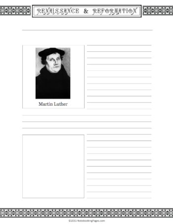 Learn About Martin Luther & The Reformation
