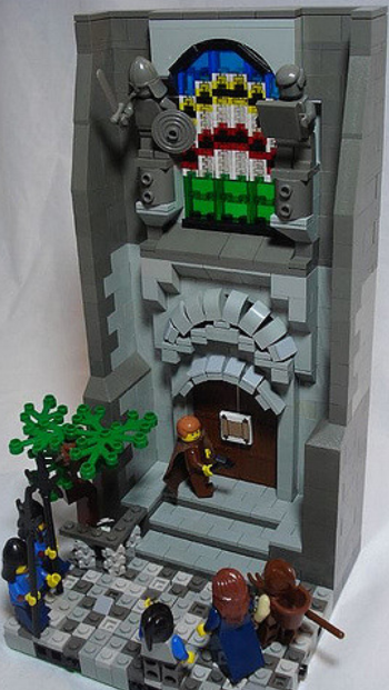 Martin Luther in LEGOS