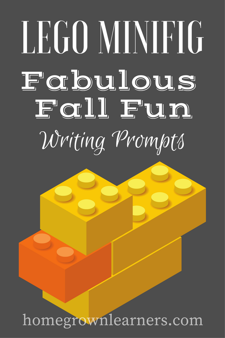 Fabulous Fall Fun LEGO Minifig Writing Prompt Download