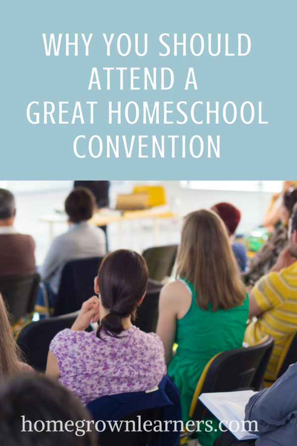 Why You Should Attend a Great Homeschool Convention