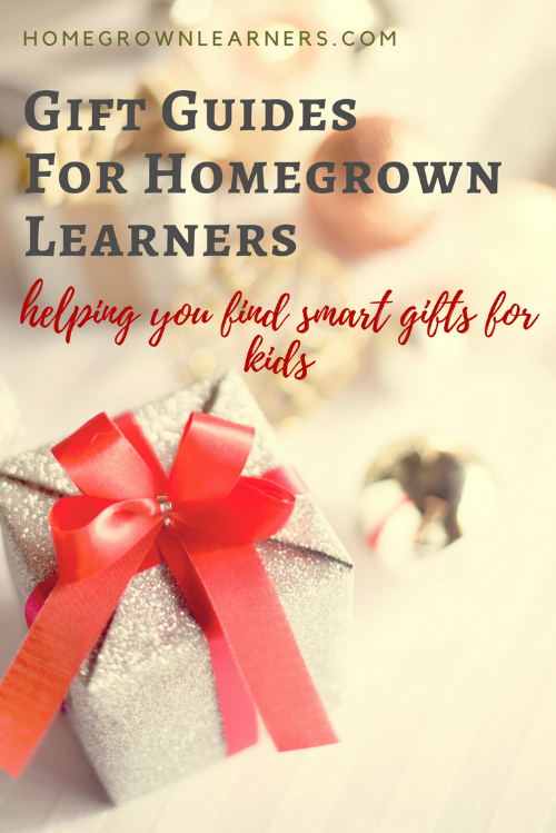 Gift Guides for Homegrown Learners