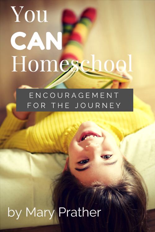 You CAN Homeschool: Encouragement for the Journey