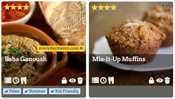 Step One: Choose Your Recipes. Don't you love the filtering tags?