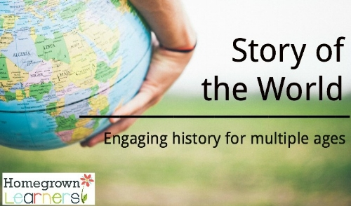 Story of the World and Homeschooling