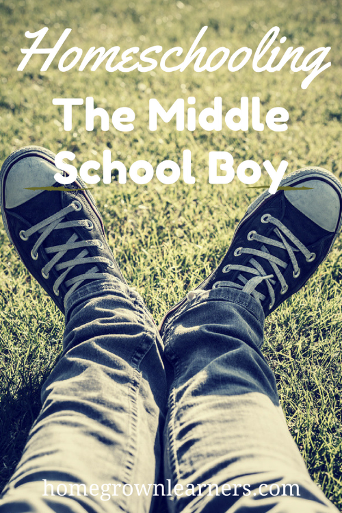 Homeschooling the Middle School Boy