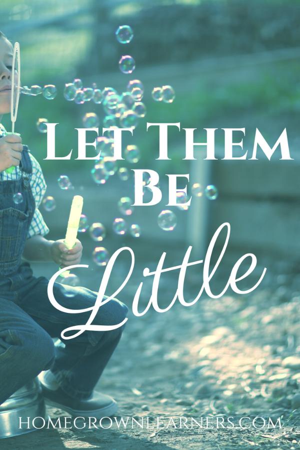 Let Them Be Little: The Crime of Vanishing Childhood