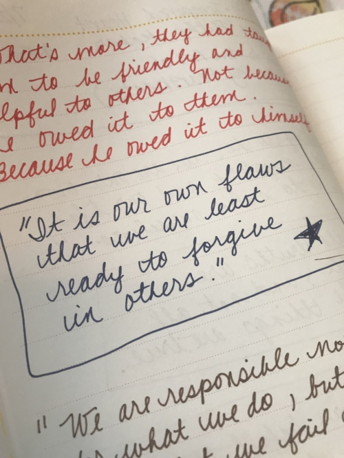 How to Build Character Through Journaling