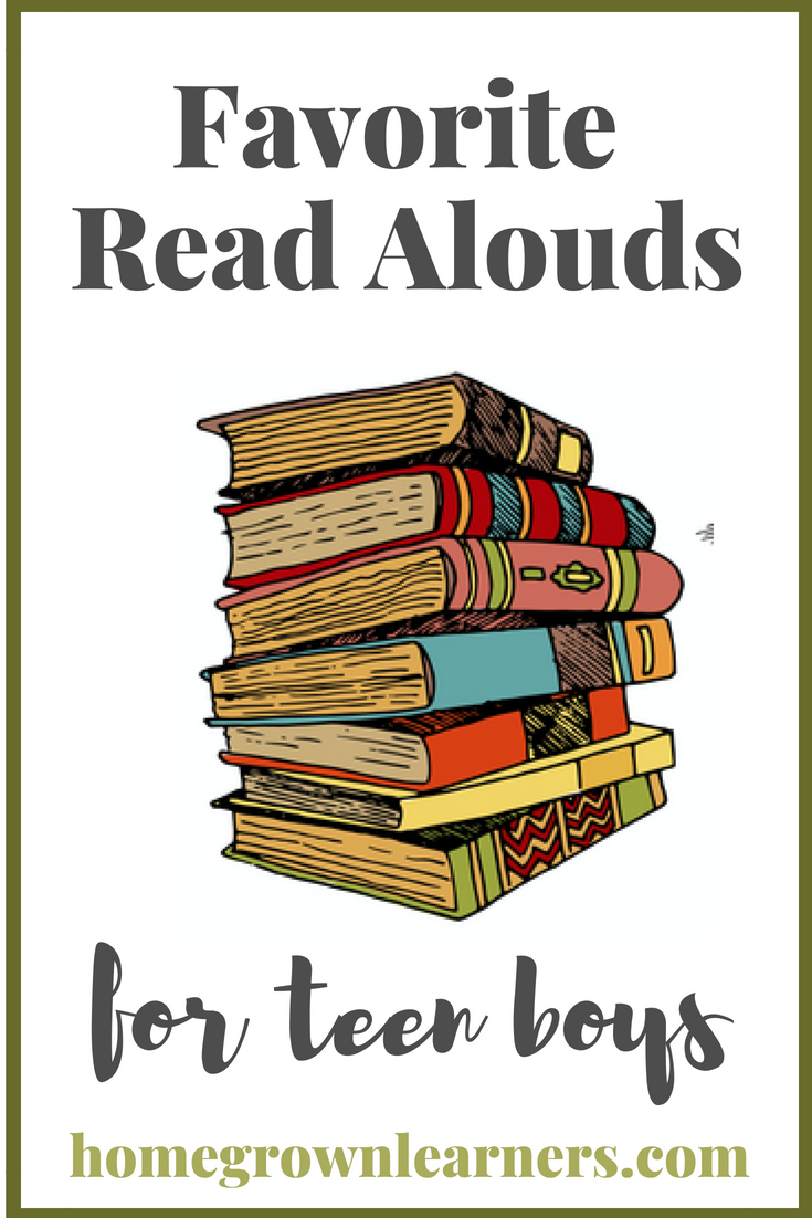 Favorite Read Alouds for Teen Boys