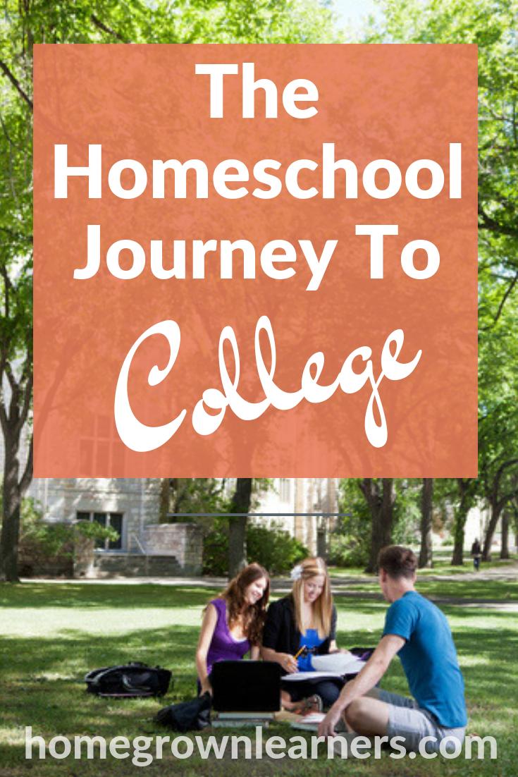 The Homeschool Journey to College