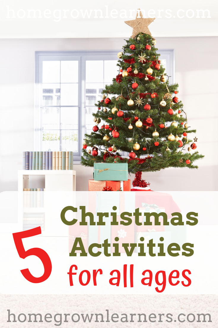 Christmas For All Ages.5 Christmas Activities For Children Of All Ages