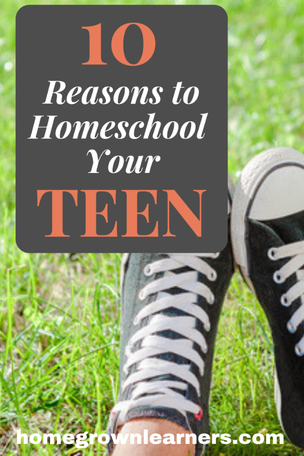10 Reasons to Homeschool Your Teen