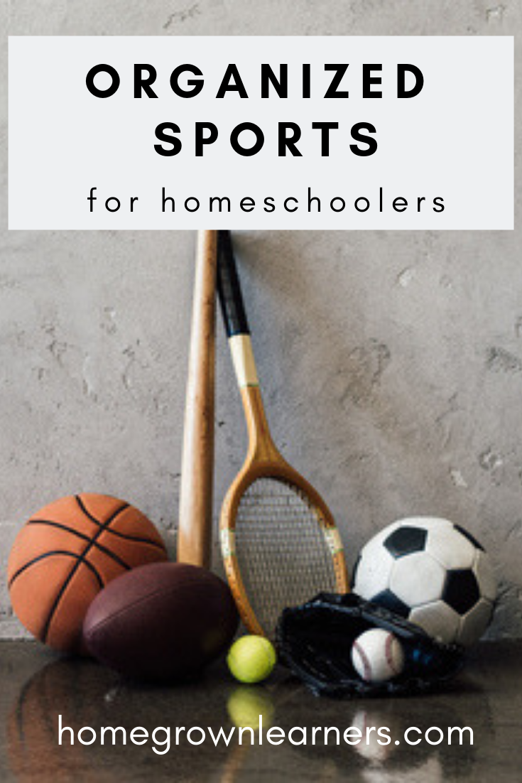 Organized Sports for Homeschoolers