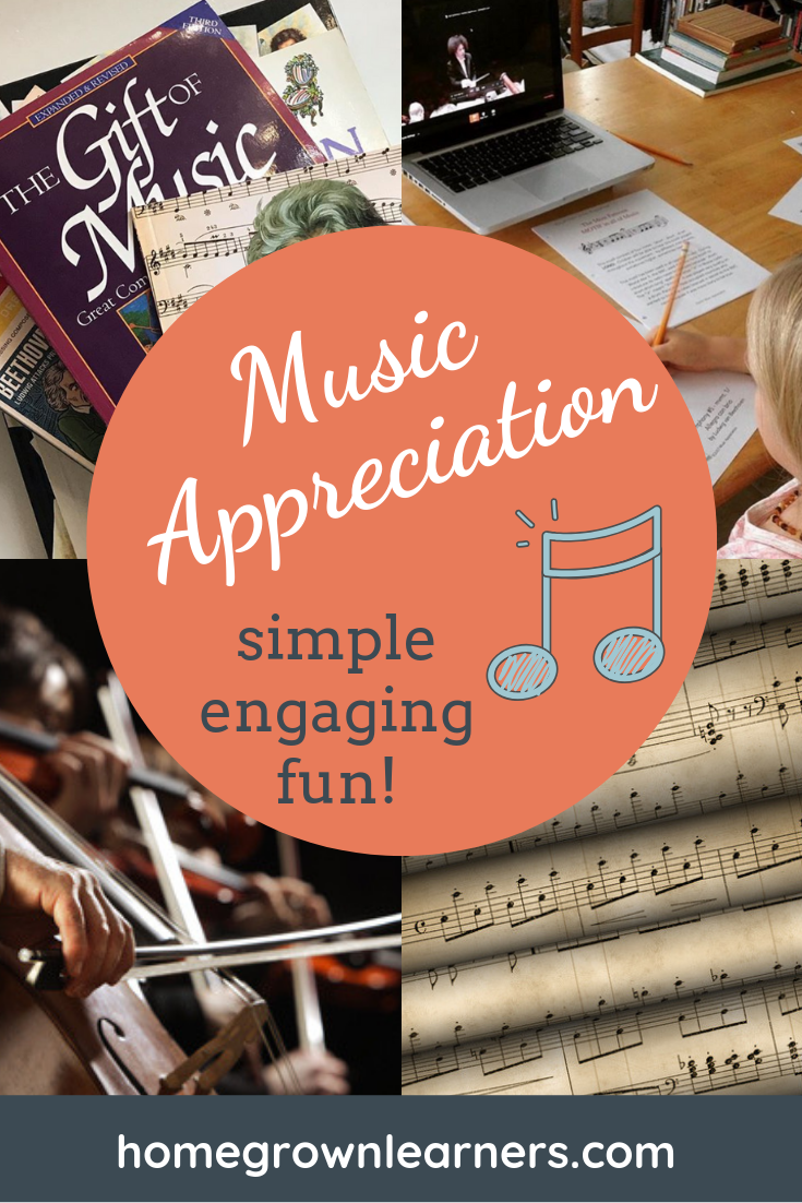 Music Appreciation made simple, engaging, and fun with SQUILT Music Appreciation… a sister site of Homegrown Learners #homeschool #musiced