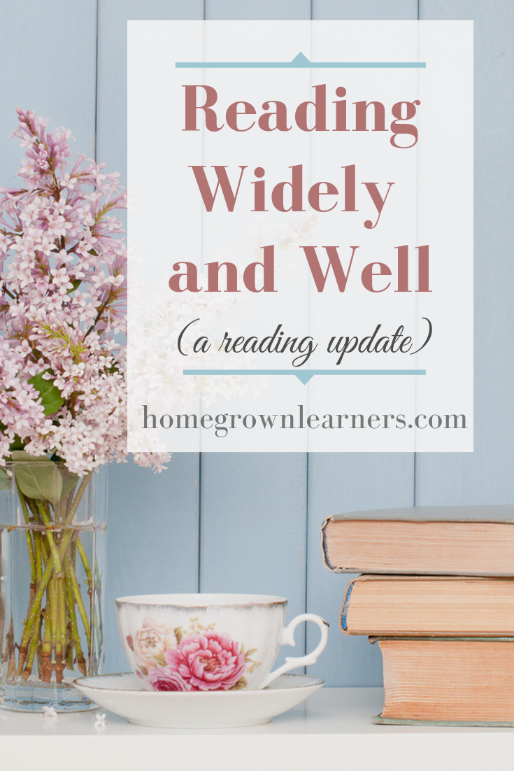 Learning for the #Homeschool Mom: Reading Widely and Well
