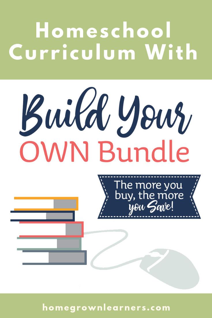 Build Your Own Bundle - #Homeschool Curriculum Sale