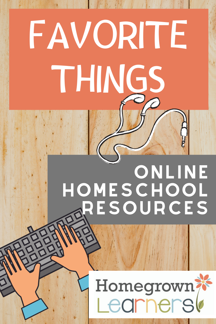 Favorite Online #Homeschool Resources