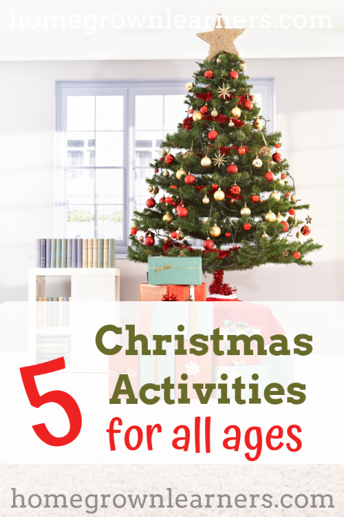 5 Simple Christmas Activities @ #Homegrown Learners