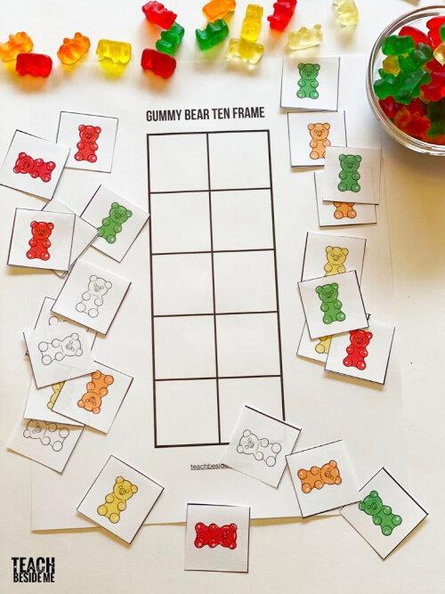 Gummy Bear Math Printables